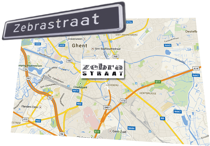 Lean Brand Lab at Zebrastraat in Ghent
