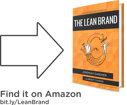 Find the Lean Brand Book on Amazon